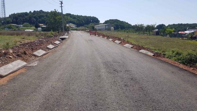 Köseler Nalbantlar köy içi yolu daha güvenli olacak
