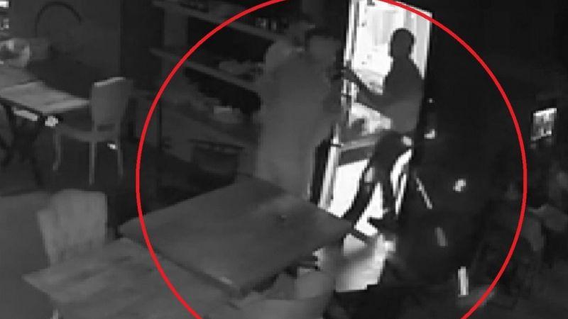 Restorandaki cinayetin görüntüleri ortaya çıktı