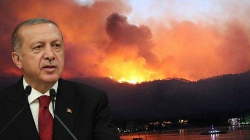 Cumhurbaşkanı Erdoğan açıkladı: Yangınlarda terör izi