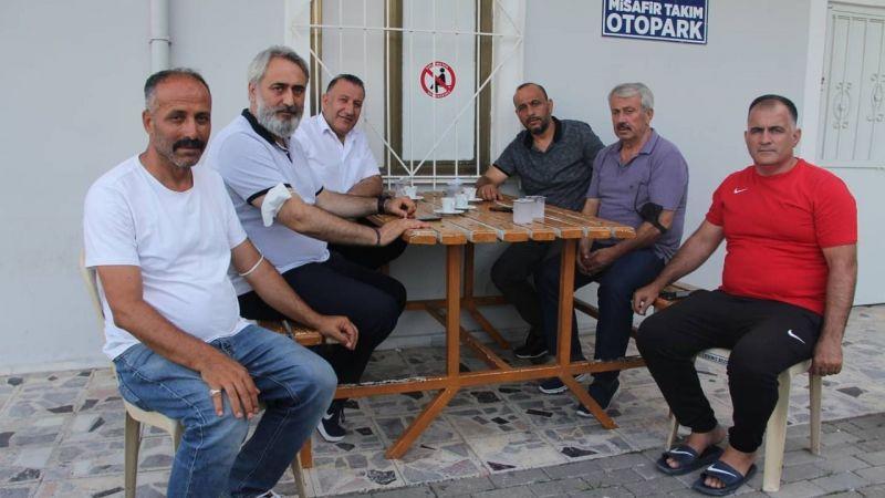 Başkan Aydın'dan ziyaret