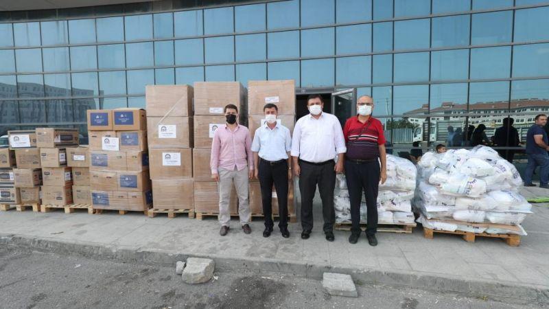 Gebze'den Manavgat'a yardım