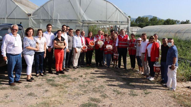 CHP'liler sera hasadına katıldı