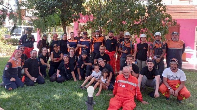 MAGDER ekibi afet bölgesinde