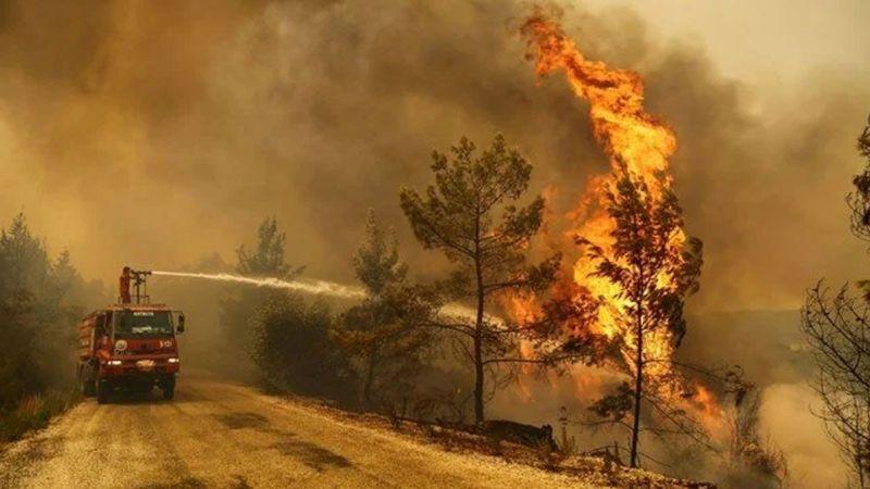 Yangından etkilenen yerler için mücbir sebep kararı