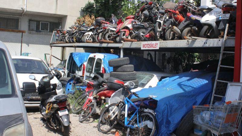 Motosiklet sayısı arttı, Yediemin'de yer kalmadı