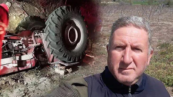 Emekli yarbay, traktör kazasında hayatını kaybetti