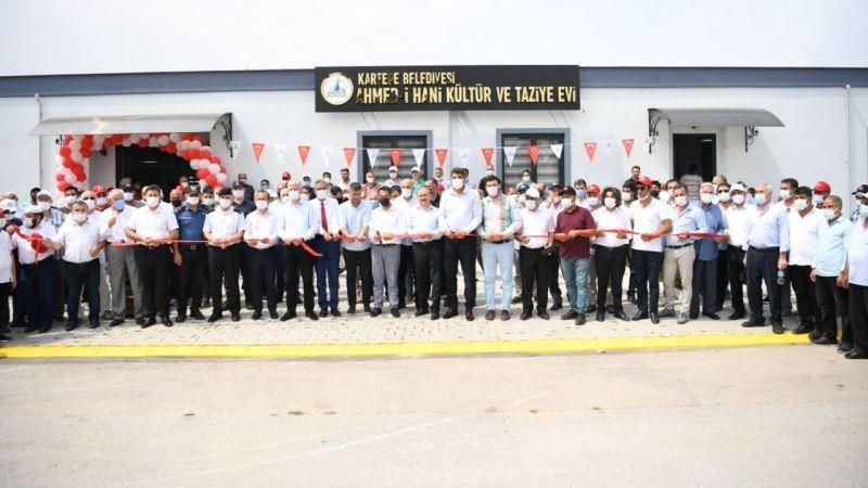 Ahmed-i Hani Kültür ve Taziye Evi açıldı