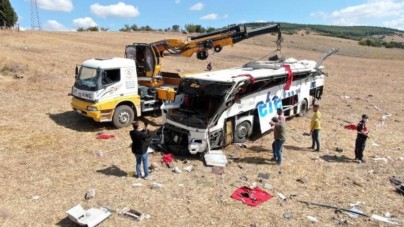Kazada ölen ve yaralanan Kocaelililerin isimleri belli oldu