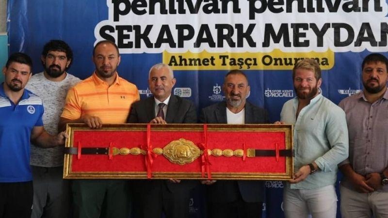Sekapark'taki yağlı güreşler Ahmet Taşçı onuruna yapılacak