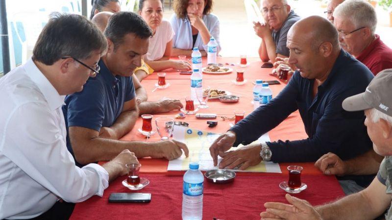 CHP, Karamürselli balıkçıları dinledi
