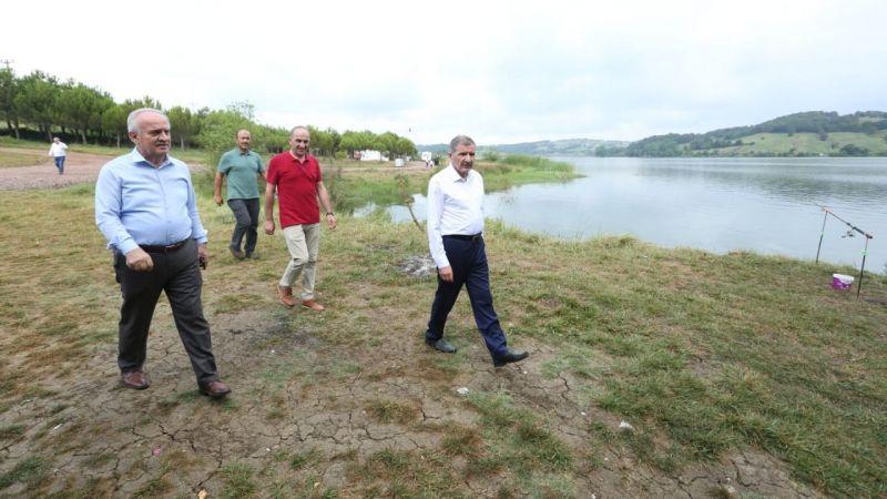 Şeker, Derince'nin turizm ve tarım yatırımlarını gezdi