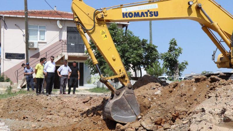 Kabaoğlu sosyal tesisi kazı çalışması başladı
