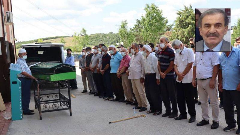 Feci kazada hayatını kaybeden emekli öğretmen toprağa verildi