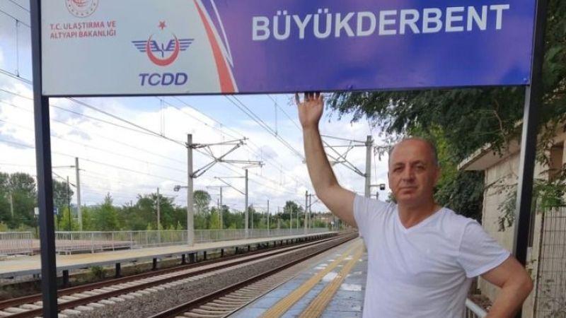 Derbent'te tabela hazır, tren bekleniyor!