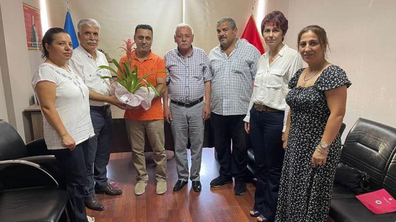 Tugay Polat'a teşkilat ziyareti