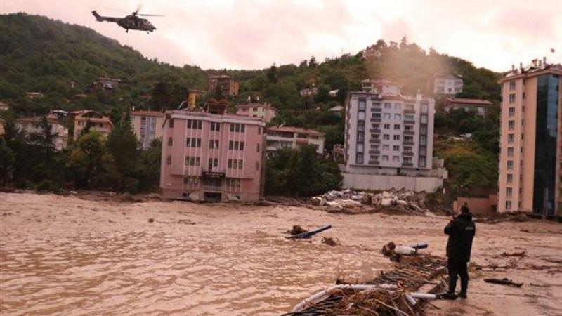 Kocaeli'den sel bölgesine personel ve araç desteği