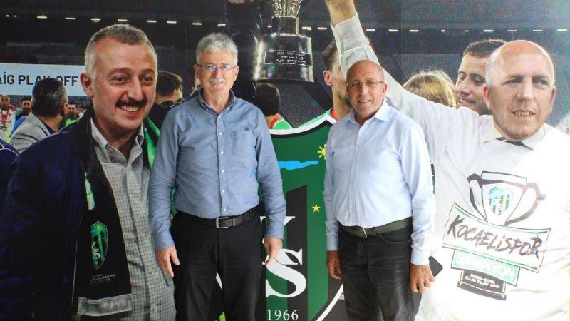 Ellibeş'ten, Kocaelispor'a destek ziyareti