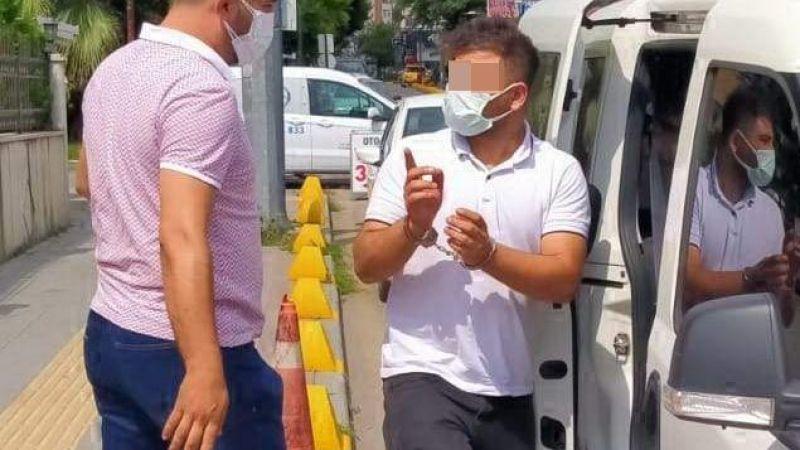 Kredi kartı dolandırıcısı uygulamada yakalandı