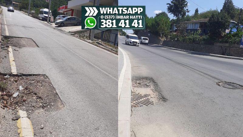 Karadenizliler Mahallesi'nde yollar asfalt yama bekliyor