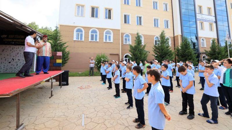 Gölkent Kuran Kursu'nda çocuklara sürpriz şenlik