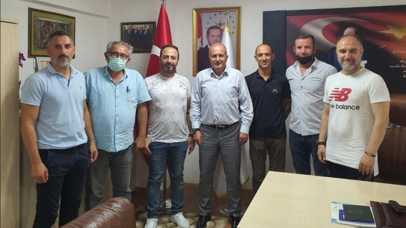 Yuvacıkspor'dan Çavuşoğlu'na ziyaret