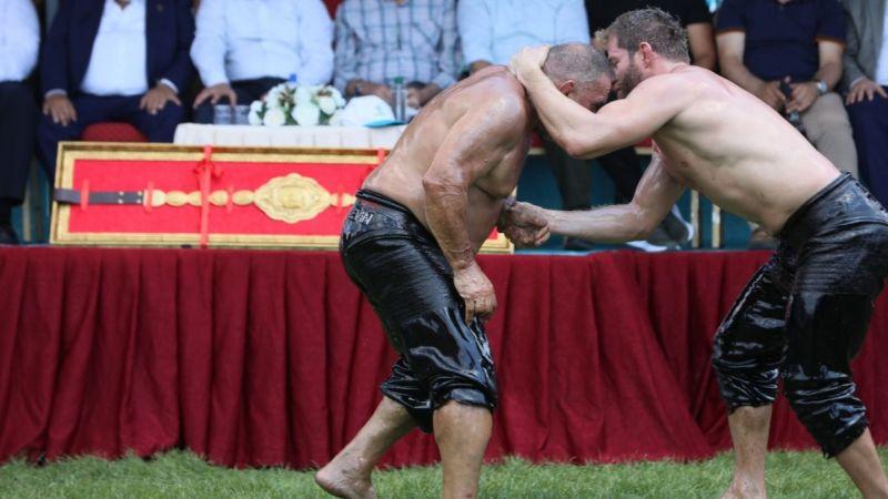 13. Sekapark Altın Kemer Yağlı Güreşleri başladı