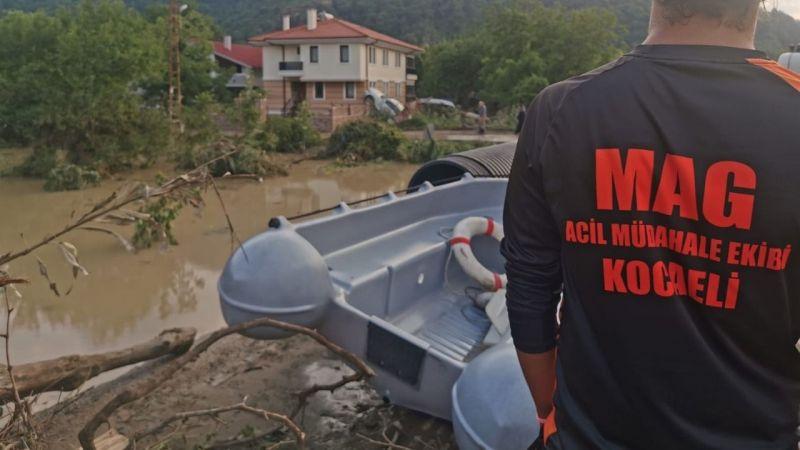MAG ekibi afet bölgesinde