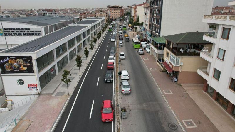 Çayırova Fatih Caddesi yeni hali ile vatandaşın hizmetinde