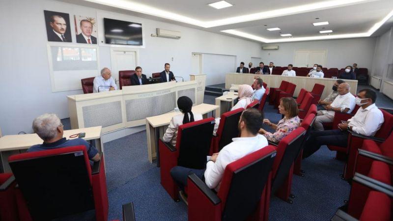 Başkan Aygün, Zenbilci'yi ağırladı