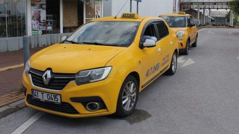 Taksicilerin zammı imzayı bekliyor