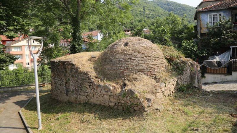 Değirmendere'de tarihi hamamın ihalesi yapıldı