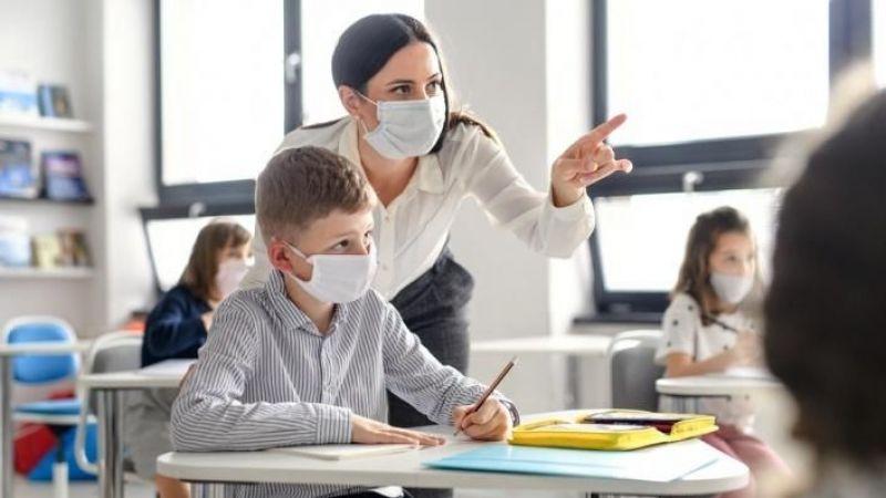 Eğitimde korona testi hazırlığı