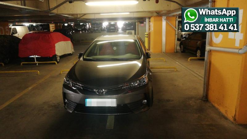 Neden 2 araçlık yere tek araç park ediyor?