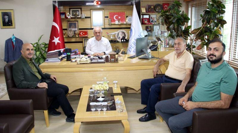 Meclis arkadaşından Zeki Aygün'e ziyaret