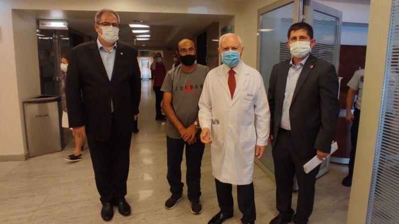 Hereke'de yardım istedi, Ankara'ya tedaviye gitti