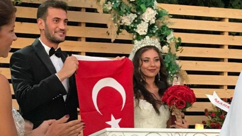 Hazal ve Gökberk evlendi