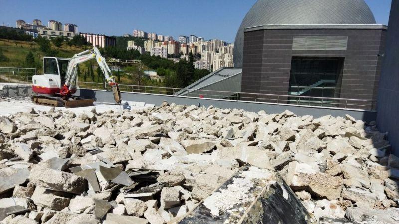 Deprem Müzesi'nde kapsamlı bakım var