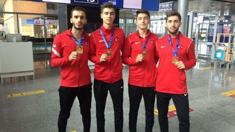 Avrupa Şampiyonası'ndan 4 madalya