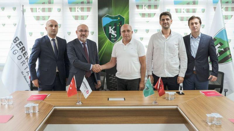 Kocaelispor'dan sigorta anlaşması