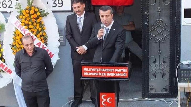 MHP'de Demiray görevine başladı