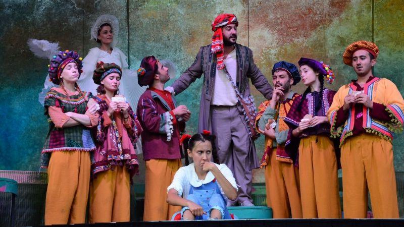 'Yunus Diye' oyununa çocuklardan büyük ilgi