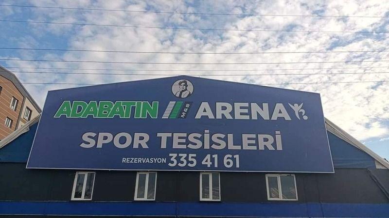 Adabatın Arena'nın açılışı yarın akşam