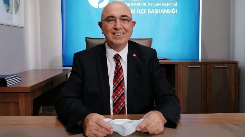 DEVA'da bir ilçe başkanı daha istifa etti