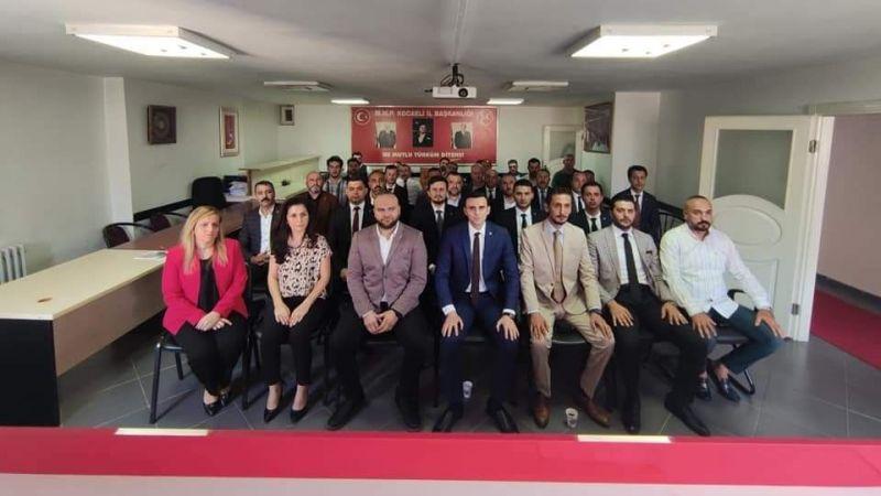 MHP İl Yönetimi görev dağılımı yapıldı