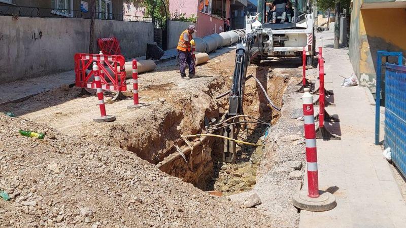 Dilovası Bağdat Caddesi'nde altyapı çalışmaları tamamlandı