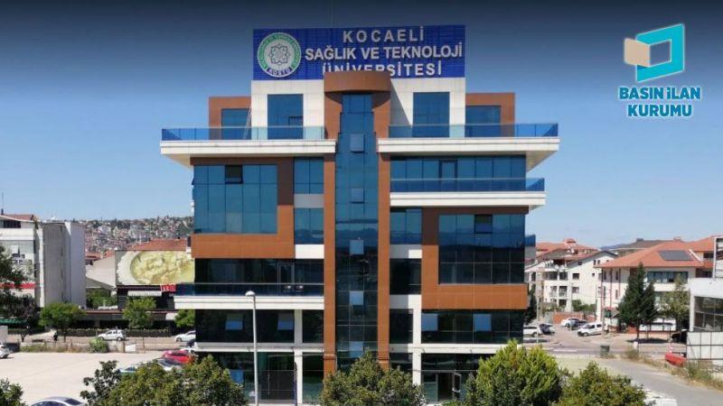 Kocaeli Sağlık ve Teknoloji Üniversitesi 29 öğretim elemanı alacak
