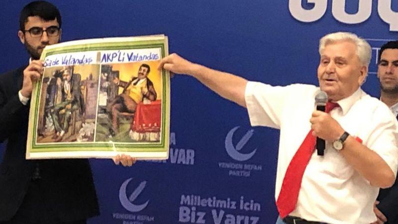 Mehmet Aras, Ankara'da şov yaptı