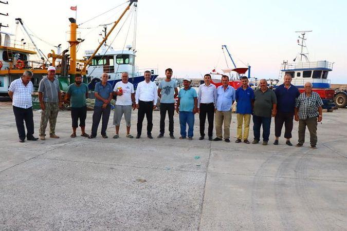 Kandıralı balıkçılar yeni sezondan umutlu