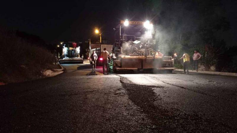 Büyükşehir ekipleri gece-gündüz demeden çalışıyor