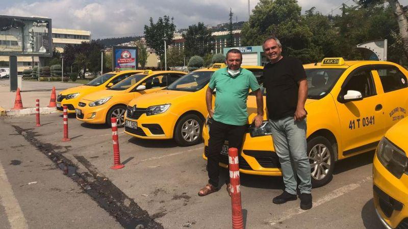 Taksiciler kazançtan memnun